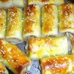 Пикантные блины с семгой и сыром