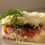 Простой салат из кукурузы и фасоли