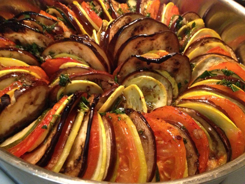 Рецепт рататуя с мясом для приготовления в мультиварке
