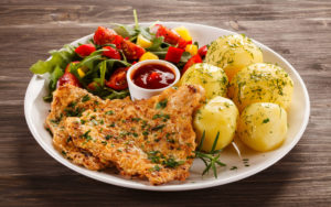 The_second_dishes_Meat_products_Potato_Plate_516046_3840x2400