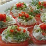 Греческие шпажки с сыром фета