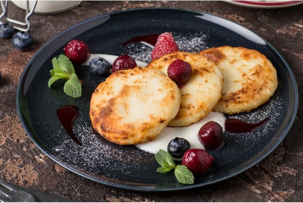Рецепт: сырники на сковороде